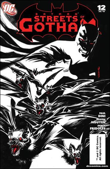 Couverture de Batman: Streets of Gotham (2009) -12- The Carpenter's tale part 1