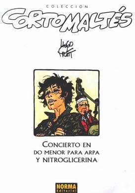 Couverture de Corto Maltés (en espagnol) -15c- Concierto en do menor para arpa y nitroglicerina