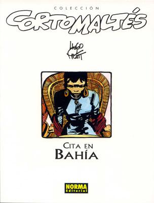 Couverture de Corto Maltés (en espagnol) -2c- Cita en Bahía