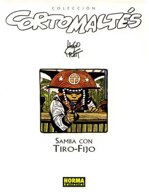 Couverture de Corto Maltés (en espagnol) -3c- Samba con Tiro-Fijo