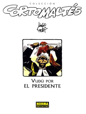 Couverture de Corto Maltés (en espagnol) -9c- Vudú por el presidente
