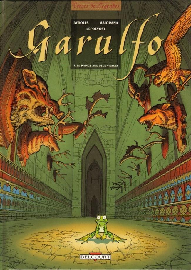 Couverture de Garulfo -3- Le prince aux deux visages