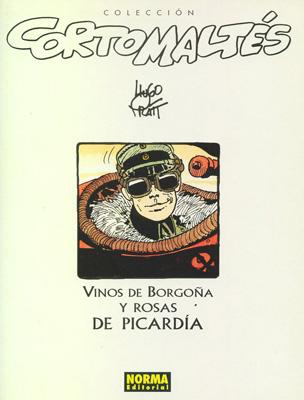 Couverture de Corto Maltés (en espagnol) -17c- Vinos de Borgoña y rosas de Picardía