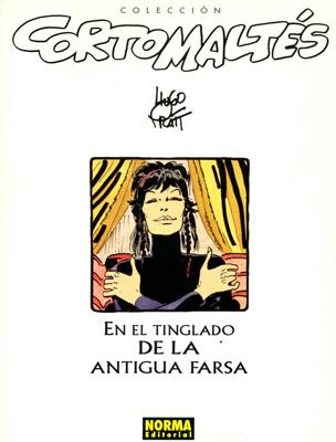 Couverture de Corto Maltés (en espagnol) -18c- En el tinglado de la antigua farsa