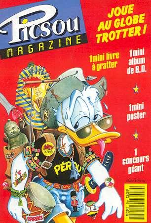 Couverture de Picsou Magazine -219- Picsou Magazine N°219