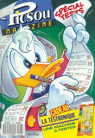 Couverture de Picsou Magazine -207- Picsou Magazine N°207