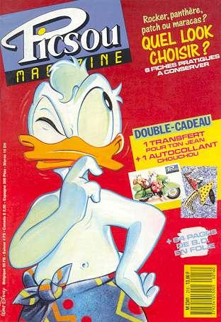 Couverture de Picsou Magazine -216- Picsou Magazine N°216