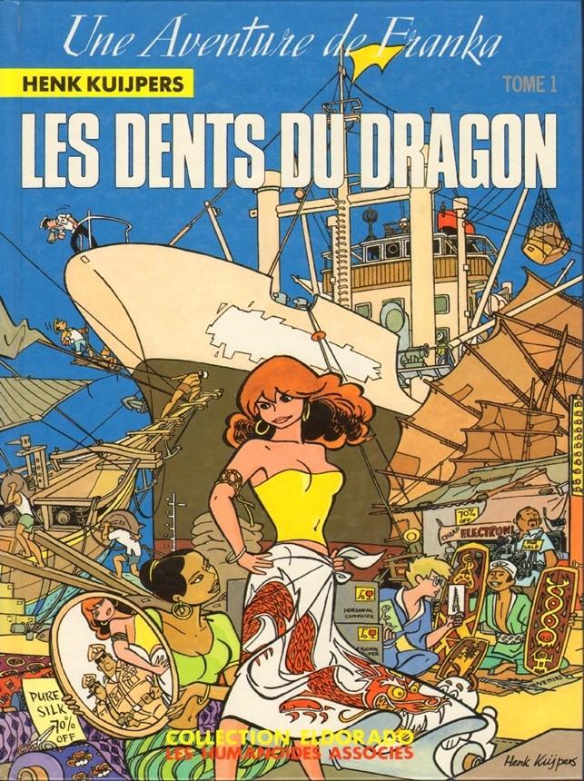 Couverture de Franka (Les Humanoïdes Associés)  -1- Les dents du dragon Tome 1