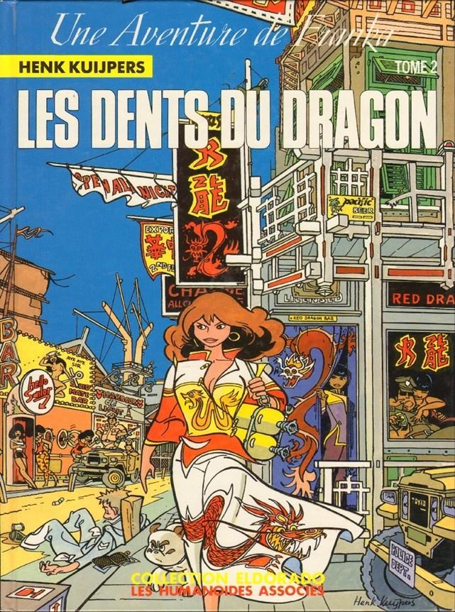 Couverture de Franka (Les Humanoïdes Associés)  -2- Les dents du dragon Tome 2