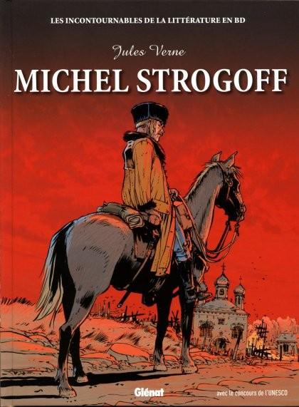 Couverture de Les incontournables de la littérature en BD -14- Michel Strogoff