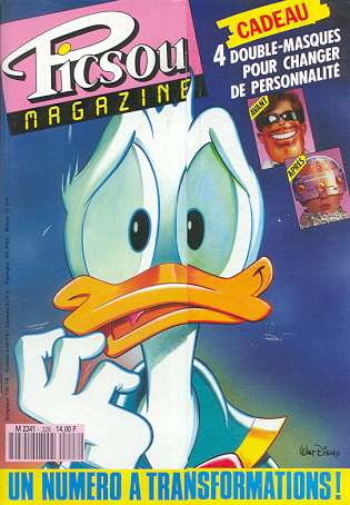 Couverture de Picsou Magazine -228- Picsou Magazine N°228