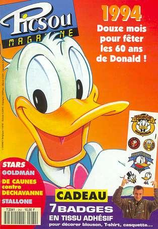 Couverture de Picsou Magazine -264- Picsou Magazine N°264