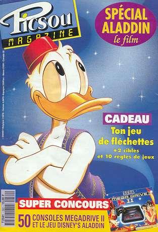 Couverture de Picsou Magazine -262- Picsou Magazine N°262