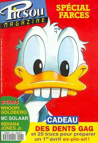Couverture de Picsou Magazine -266- Picsou Magazine N°266