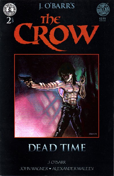 Couverture de Crow (The): Dead Time -2- Throw wide the Gates of Hell
