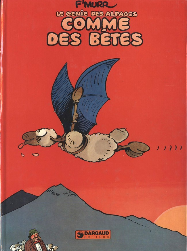 Couverture de Le génie des Alpages -2- Comme des bêtes