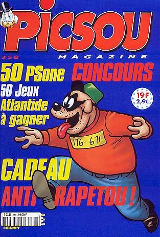 Couverture de Picsou Magazine -358- Picsou Magazine N°358
