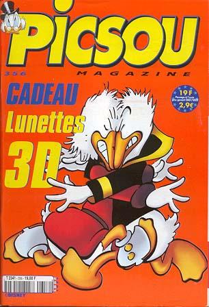 Couverture de Picsou Magazine -356- Picsou Magazine N°356