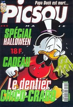 Couverture de Picsou Magazine -345- Picsou Magazine N°345