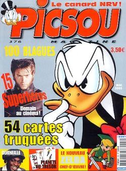 Couverture de Picsou Magazine -376- Picsou Magazine N°376