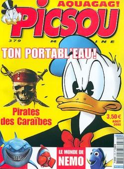 Couverture de Picsou Magazine -379- Picsou Magazine N°379