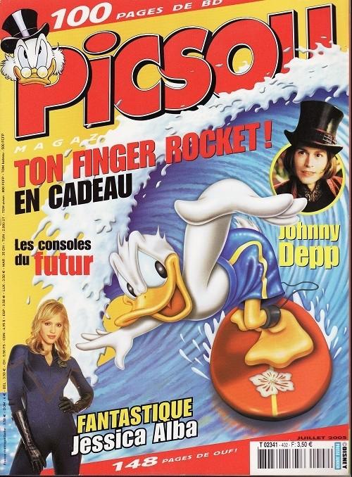 Couverture de Picsou Magazine -402- Picsou Magazine N°402