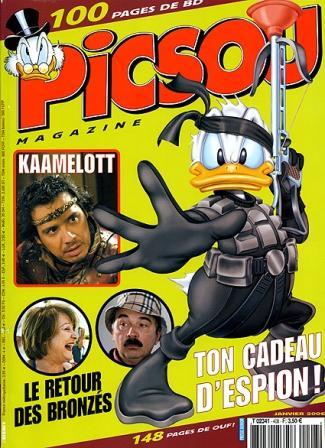 Couverture de Picsou Magazine -408- Picsou Magazine N°408