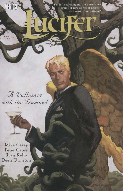 Couverture de Lucifer (2000) -INT03- A dalliance with the damned