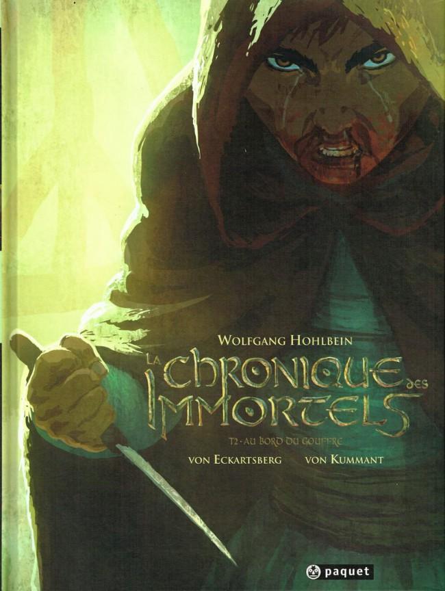 Couverture de La chronique des Immortels -2- Au bord du gouffre 2