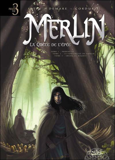 Couverture de Merlin - La quête de l'épée -INT- Merlin - La Quête de l'épée