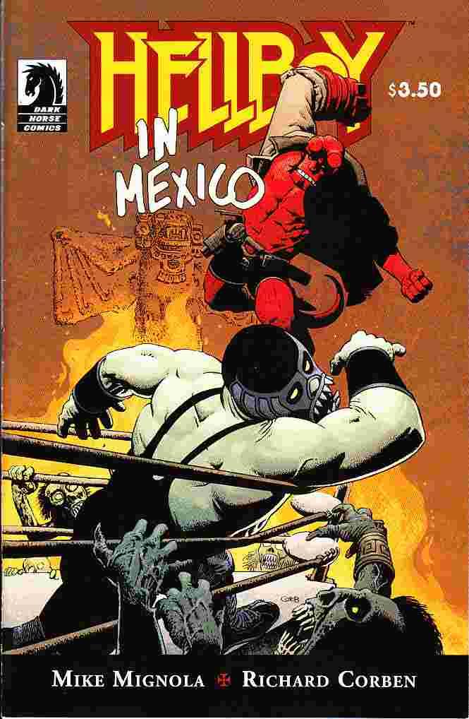 Couverture de Hellboy (1994) -46- Hellboy in Mexico