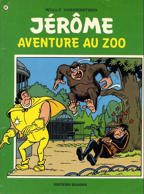 Couverture de Jérôme -84- Aventure au zoo