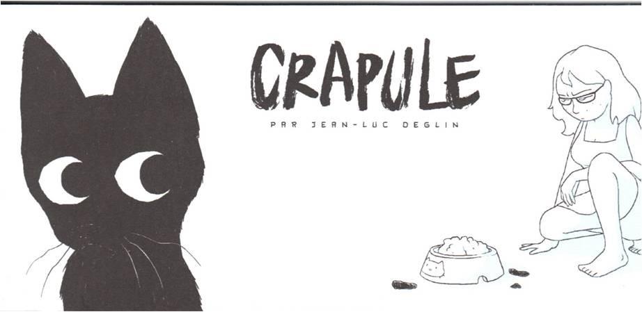 Couverture de Crapule (Deglin) -MR3729- Mini-récit n°2