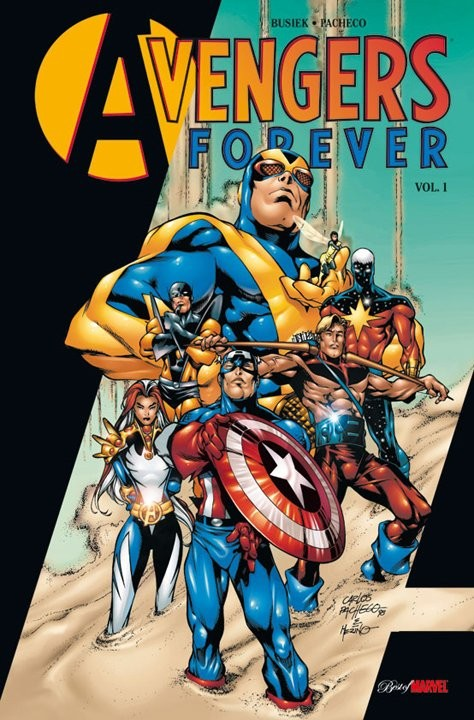 Couverture de Best of Marvel -22- Avengers Forever vol. 1