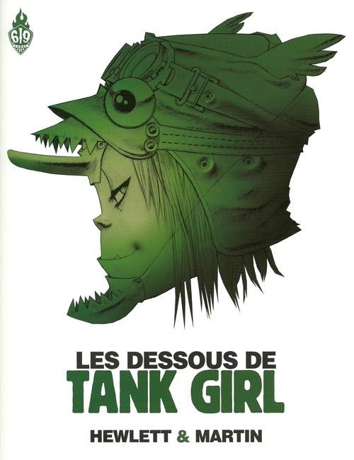 Couverture de Tank Girl -HS- Les dessous de Tank Girl : l'art et la manière d'une icône de la b.d.