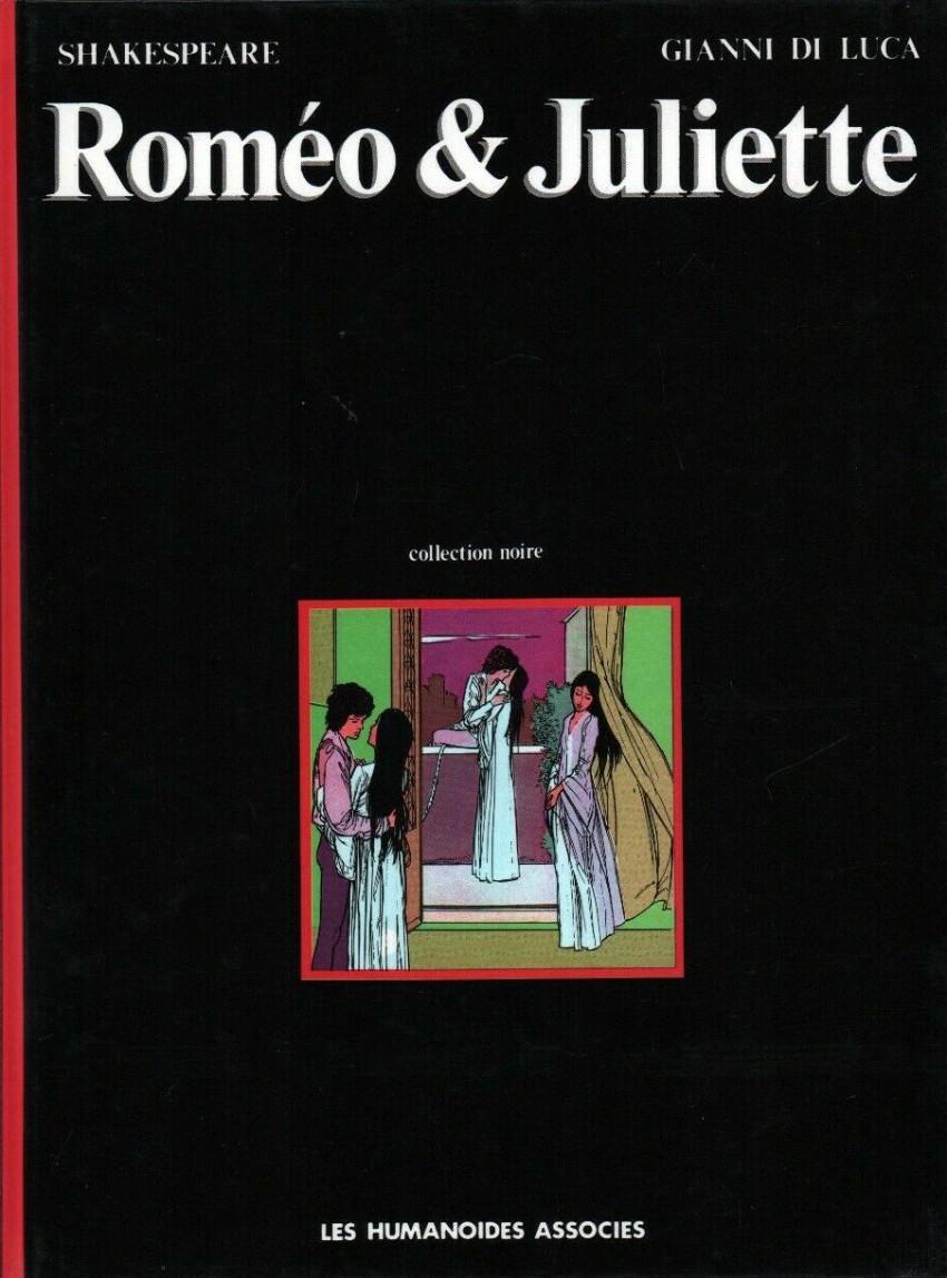 Couverture de Roméo & Juliette (De Luca) - Roméo & Juliette