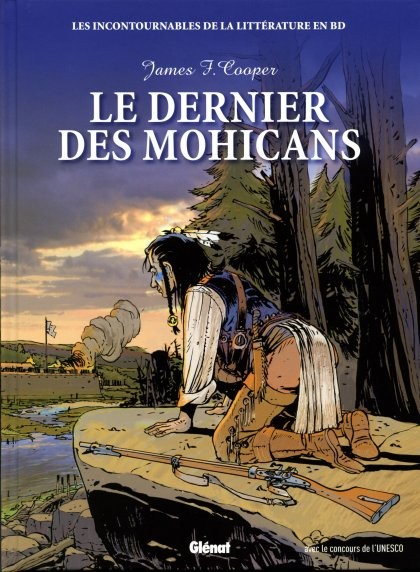 Couverture de Les incontournables de la littérature en BD -16- Le Dernier des Mohicans