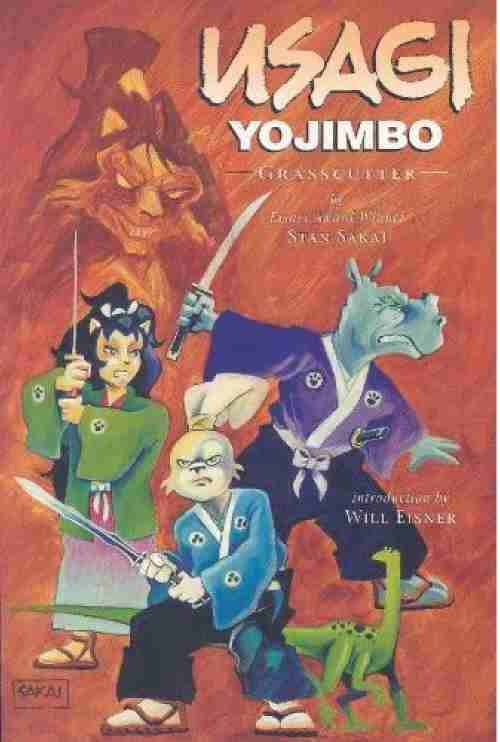Couverture de Usagi Yojimbo (1996) -INT12- Grasscutter