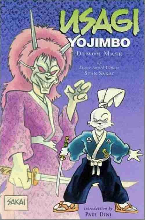 Couverture de Usagi Yojimbo (1996) -INT14- Demon mask