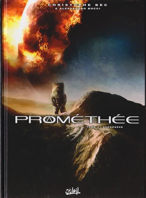 Couverture de Prométhée -3- Exogénèse