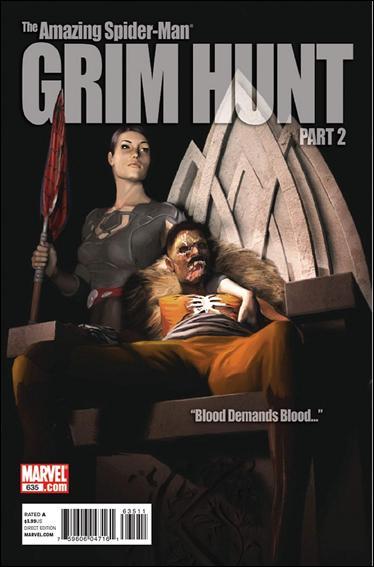 Couverture de Amazing Spider-Man (The) Vol.2 (Marvel comics - 1999) -635- Grim hunt part 2