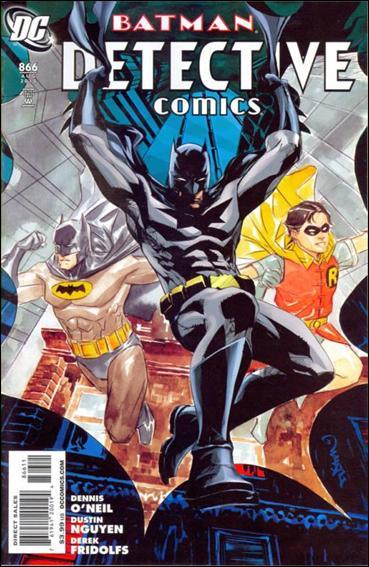 Couverture de Detective Comics (1937) -866- The medallion