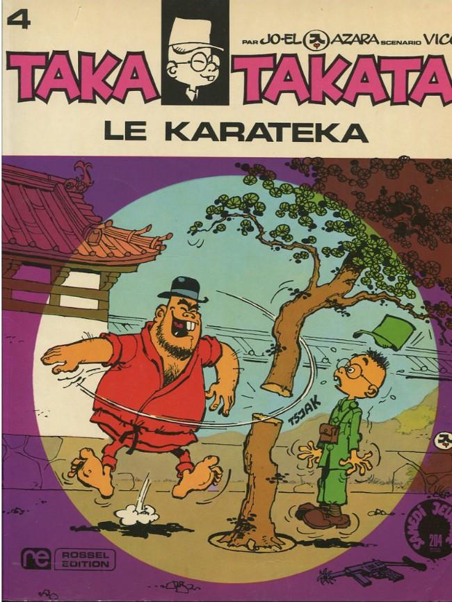 Couverture de Taka Takata -5- Le Karatéka