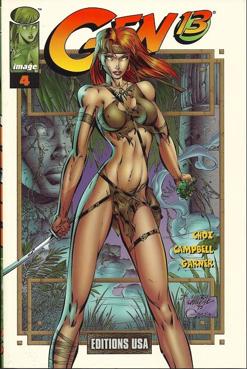 Couverture de Gen13 (Editions USA) -INT04- Volume 4