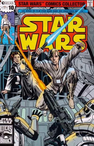Couverture de Star Wars (Comics Collector) -10- Numéro 10