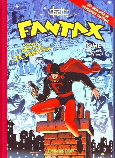 Couverture de Fantax (1re série) -INT1- Tome 1 (1946-1947)