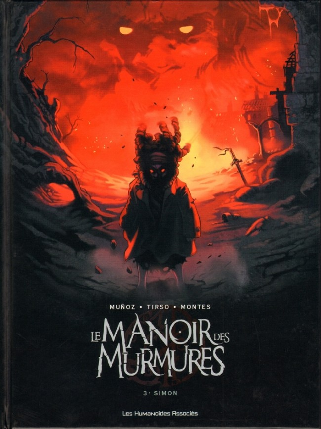 Couverture de Le manoir des murmures -3- Simon