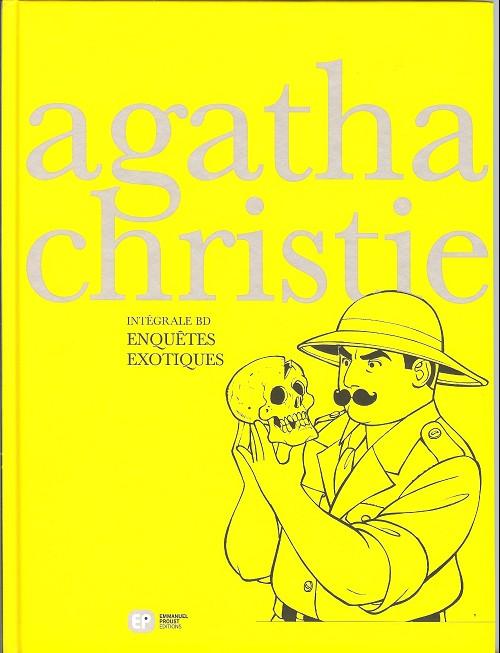 Couverture de Agatha Christie - Intégrale BD -3- Enquêtes exotiques