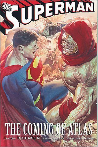 Couverture de Superman (1939) -INT- Superman: The coming of Atlas