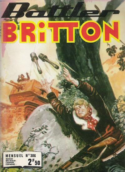 Couverture de Battler Britton -386- Les